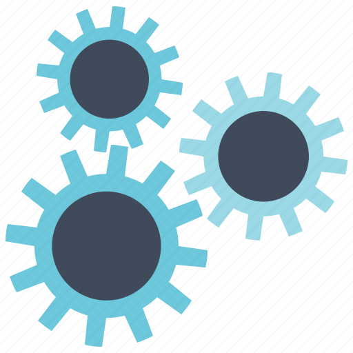 Machine, technology, gear icon