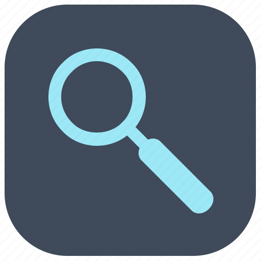 loop, search, zoom icon