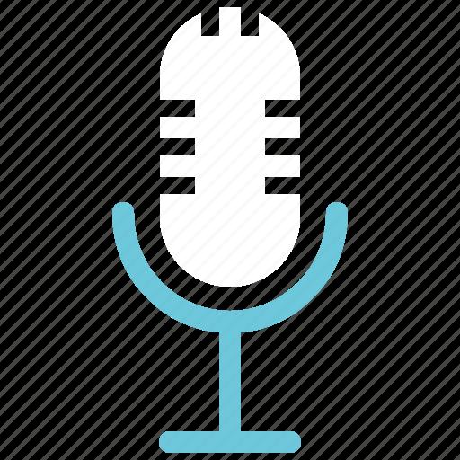 microphone, record, voice icon