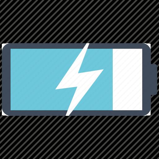 battery, power, saving icon
