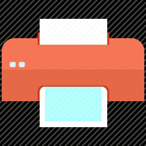 printer, write icon