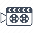 cinema, film, video icon