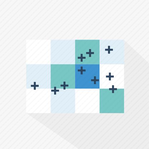 analysis, analytics, blue, chart, graph, statistics, technology icon