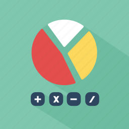 accounting, calculating, communication, device, finance, network, technology icon