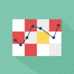 analysis, chart, graph, green, pie, report, technology icon