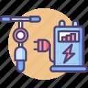 bikechargingstation, intelligent, technology icon
