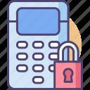 intelligent, securitypanel, technology icon