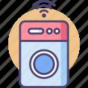 intelligent, smartwashingmachine, technology icon