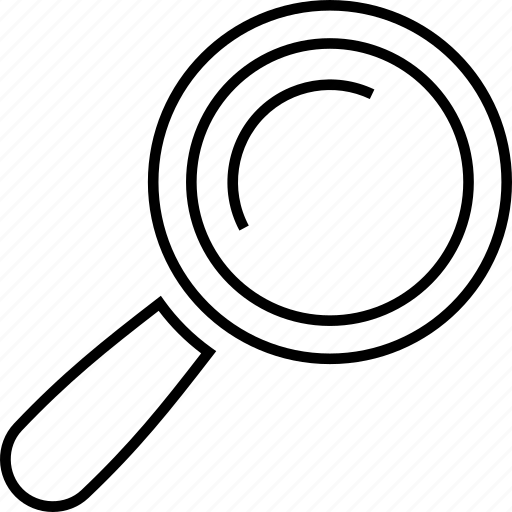 communication, internet, loope, magnifying glass, search, tech, technology icon