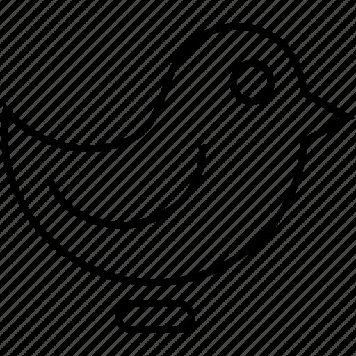 bird, internet, technology, twitter bird icon