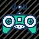 console, controller, game, remote control icon