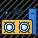 music, speaker, wifi, wireless