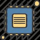 chip, computer, cpu, processor