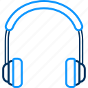 earphone, headphone, headphones, headset, service, support icon