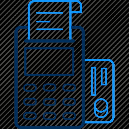 atm, banking, receipt, transaction icon