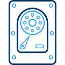 hard disc, harddisc, harddisk, harddrive, hardware, hdd, storage icon