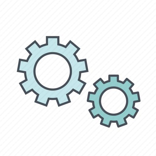 customize, development, gear, install, optimization, setting, tool icon