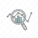 analysis, chart, data, diagram, report, seo, statistics icon