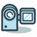 camcorder, camera, movie, movie camera icon