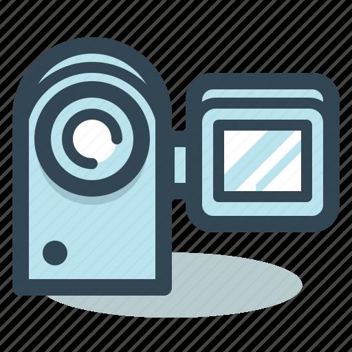 camcorder, camera, movie, movie camera icon