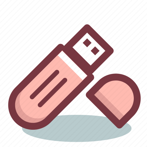 drive, flash, stick, storage, usb icon