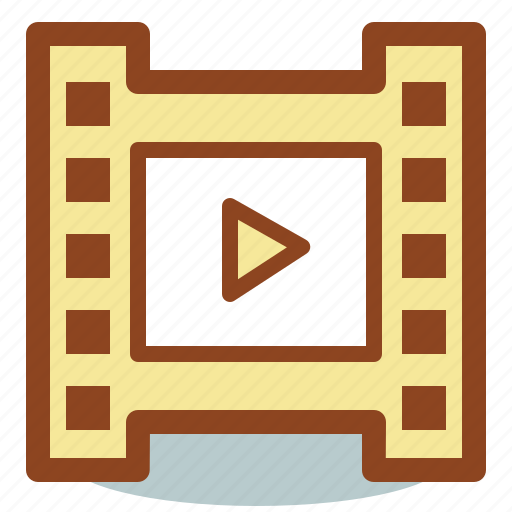 cinema, film, frame, motion, movie, video icon