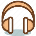 audio, device, headphones, listening, music, sound icon