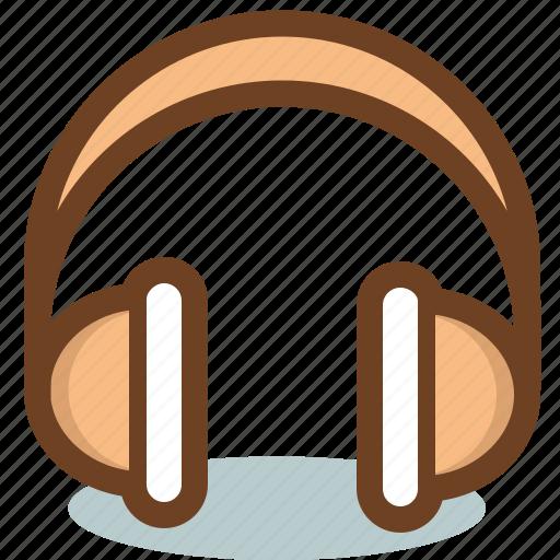 audio, device, headphones, listening, music, sound icon