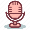 mic, microphone, radio, voice, volume icon