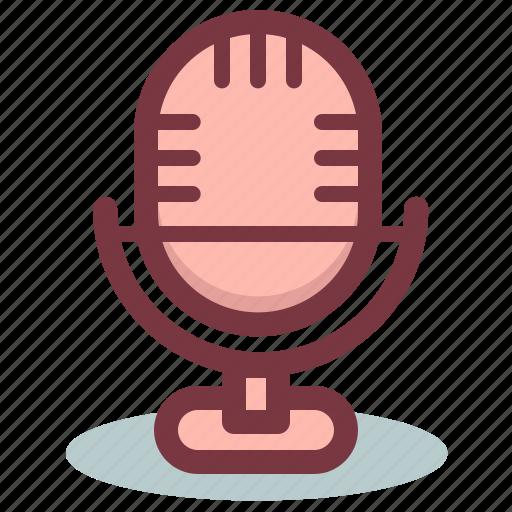 mic, microphone, radio, voice, volume icon