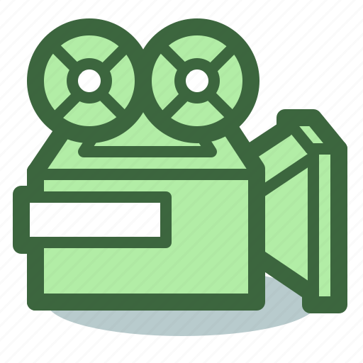 camera, cinema, movie, overhead, projector, video icon