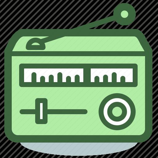 radio, retro, signal, wireless icon