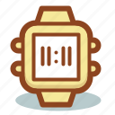 device, smart, smart watch, time, watch, watches icon