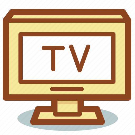 display, film, movie, television, tv icon