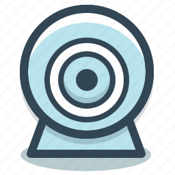 cam, camera, chat, communication, video, webcam icon