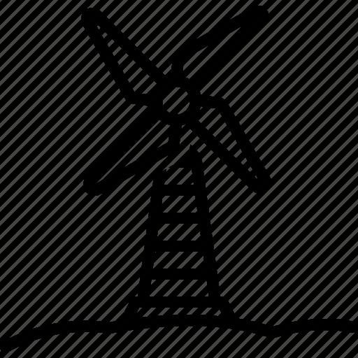 Blade, conditioner, generator, propeller, ventilator, windmill icon - Download on Iconfinder