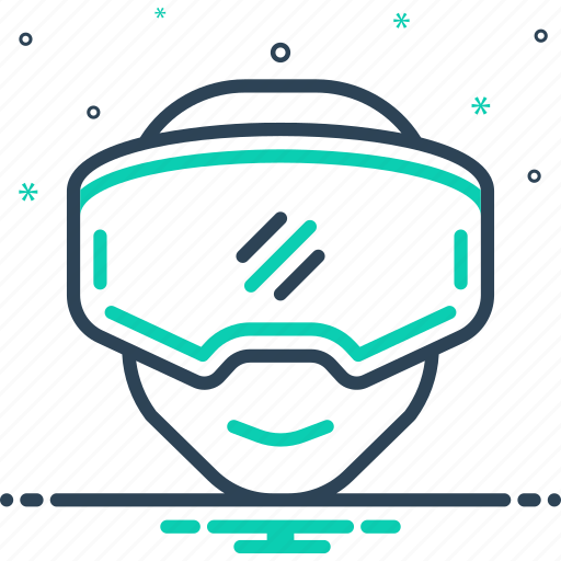 device, entertainment, gear, headset, oculus, reality, rift icon