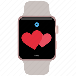 mobile marketing, seo, smartwatch, technology icon