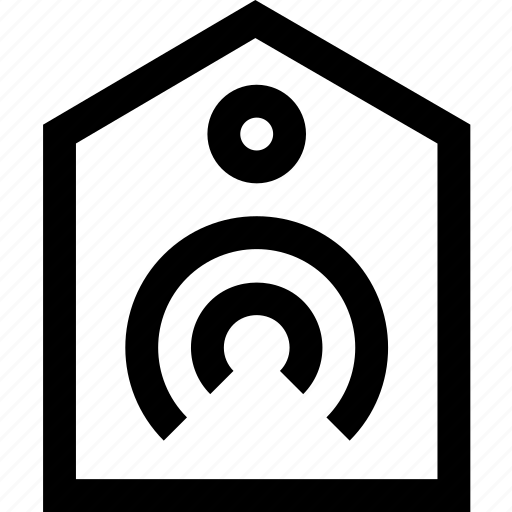computer, device, home, network, remote, technology, wi-fi icon
