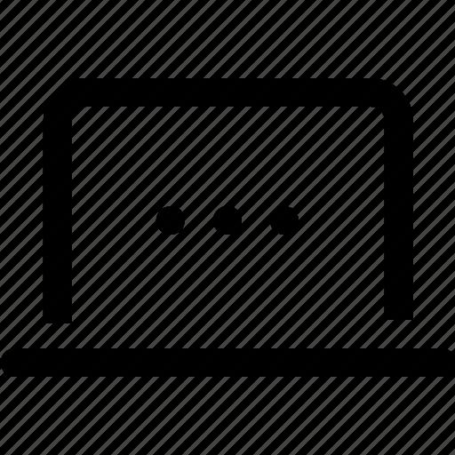 computer, internet, laptop, technology icon