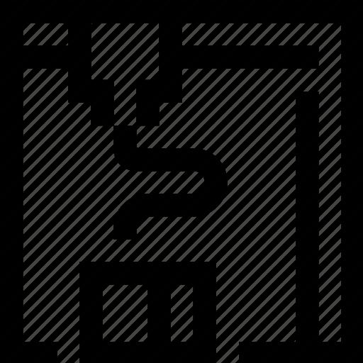 object, print, printer, three dimensional icon