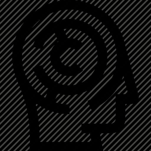 design, game, idea, problem, puzzle, solve, think icon