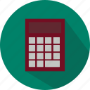 calculation, calculator, education, finance, math, school, study icon