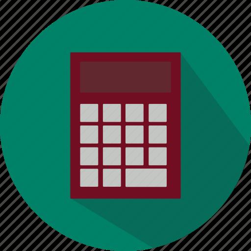 calculation, calculator, education, finance, math, school, study icon