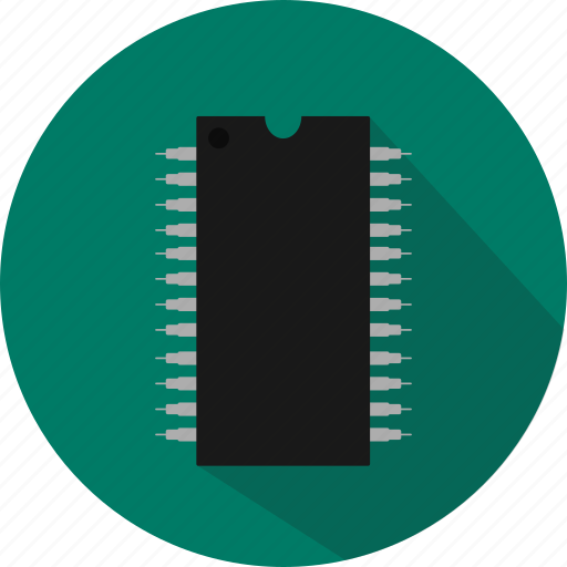 arduino, atmega, atmel, electronic, integrated circuit, microcontroller, microprocessor icon