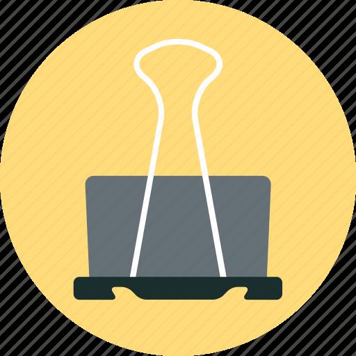 binder clip, file icon