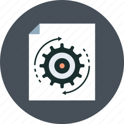 file, install, software icon