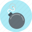 alert, bomb, danger icon