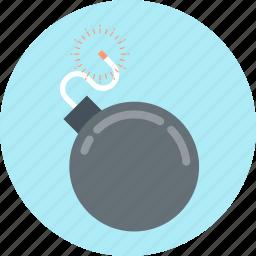 alert, bomb, danger icon
