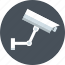 area, attention, camera, caution, surveillance camera icon